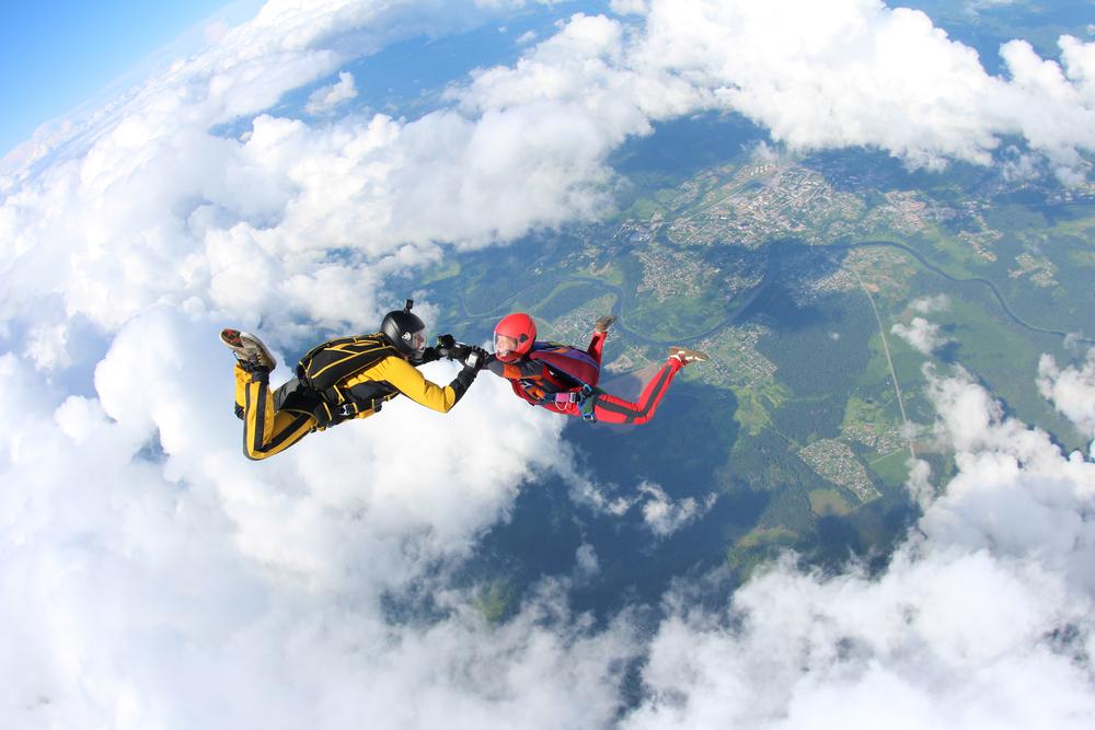 skydiving credit card