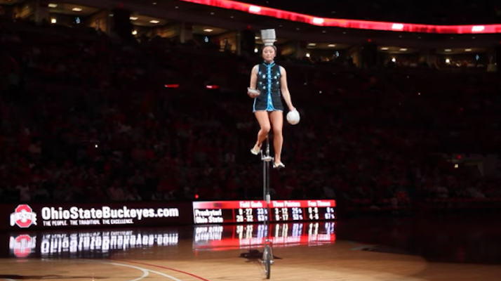 red panda unicycle stolen