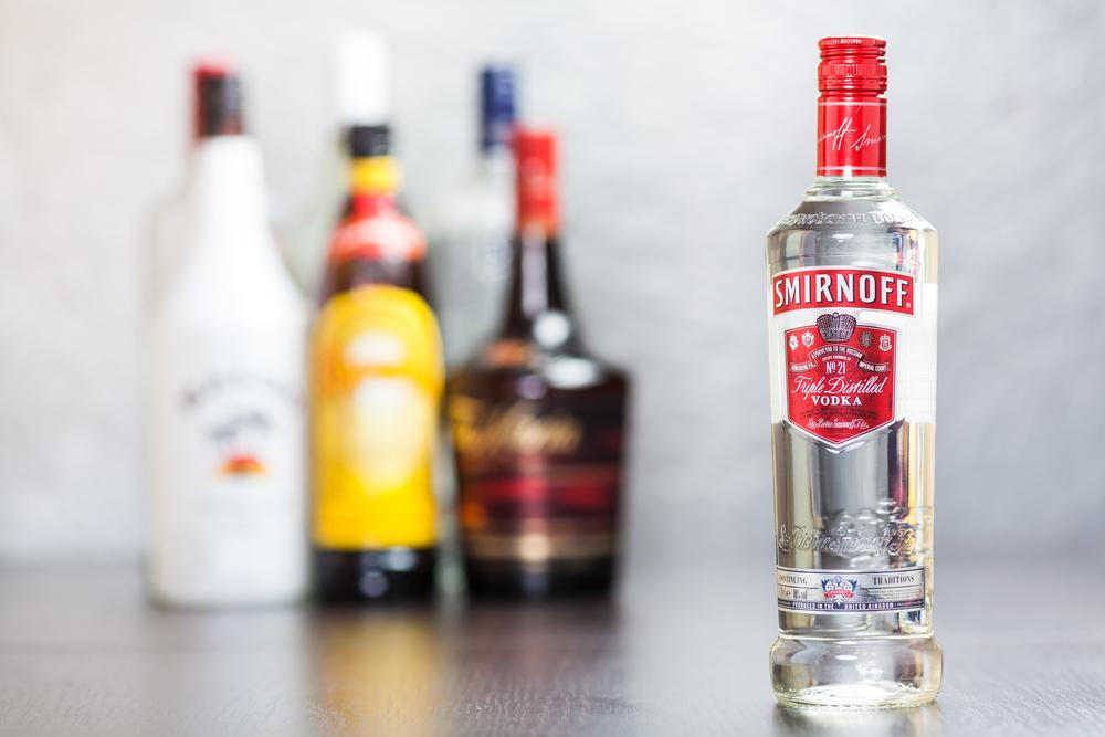 smirnoff vodka history