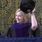 hillary clinton russian hat yale commencement
