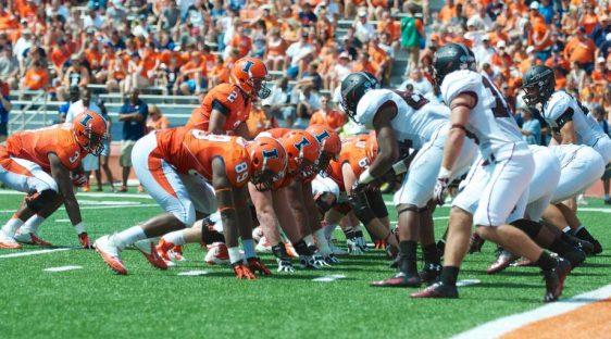 university of illinois football linebackers theft
